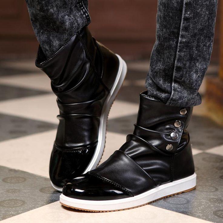 Mens Designer Boots Fashion images