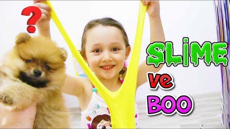 Boo Köpek ve Öykü Slime Yapıyor #1 - Öykü Usta