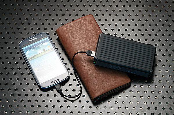 ThinkGeek :: PowerPak+ High Capacity Portable Charger