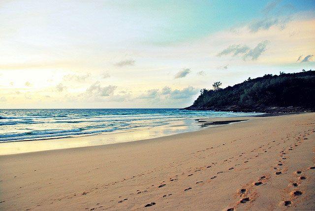 Best beaches in Phuket - Nai Thon Beach