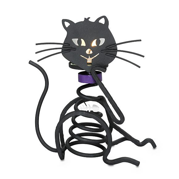 Cant forget the Feline!! http://www.partylite.biz/sites/candlearious: Cats, Cup, Stones Votive, Cat Candleholder, Votive Holder, Candleholder Halloween, Partylite Candles