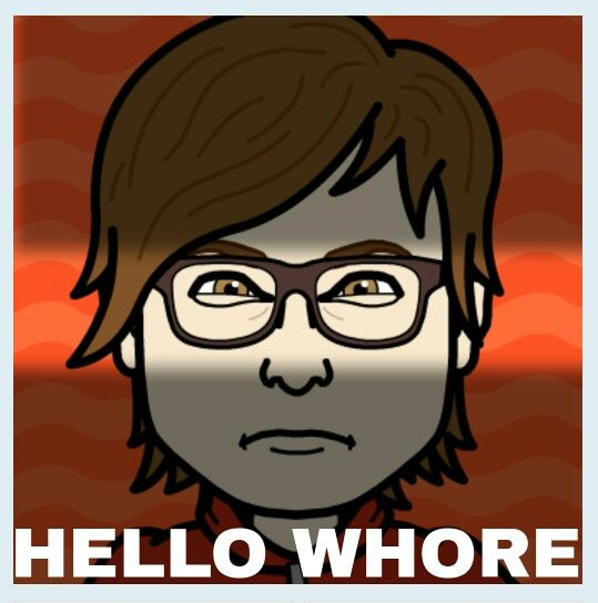 My bitstrips self ain't so sweet. #whore #hello #bitsrips #lol from #dexter the #tvseries