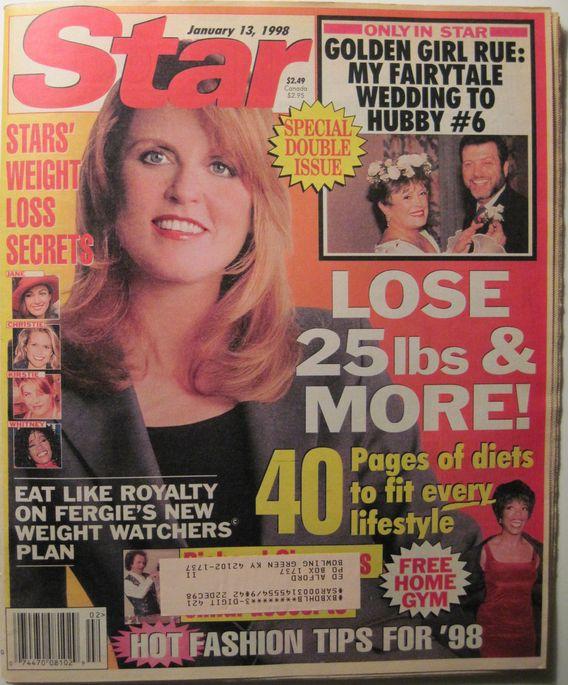 STAR Magazine 1-13-1998- -Fergie