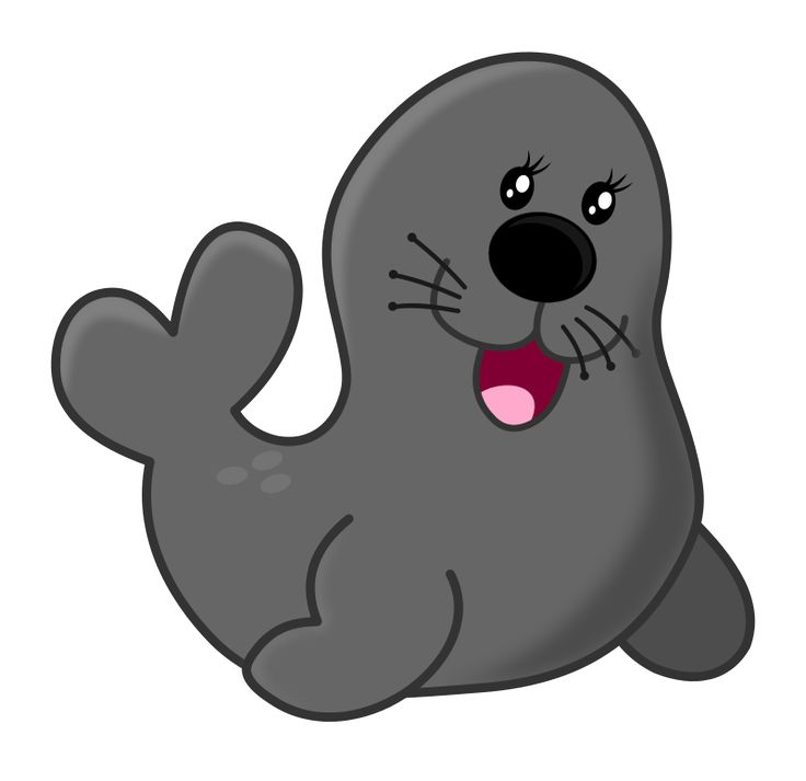 Seal by Maw - acuario, animals, aquarium, circo, circus, clip art, clipart, foca, leon marino, sea, sea lion, seal, zoo, zoologico,