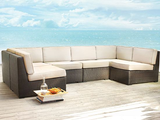Scandinavian Designs Outdoor Furniture Filum Modular Sectional