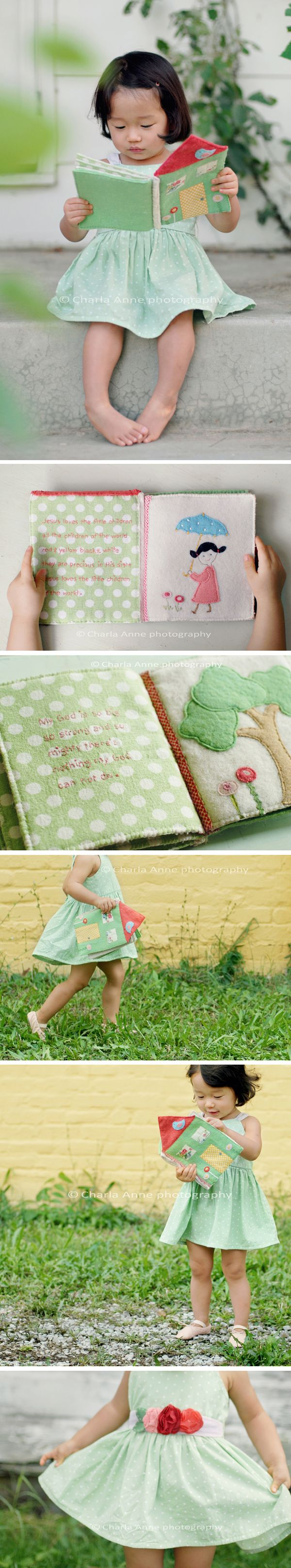 I like the idea behind this book...I would pick a song that the child loves and create it based off this idea.