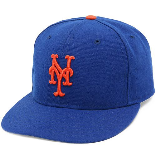 Authentic Mets Cap with 50th Anniversary Patch
