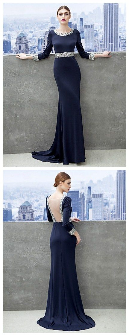 If I have a stunning back to show off, this is what you pick for a dress.