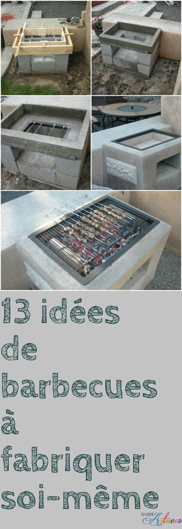 13 idées de barbecues à fabriquer soi même barbecue exterieur bbq ...