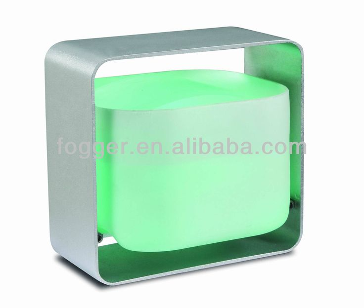 1.High grade ultrasonic aroma humidifier.  2.Silver/Golden color available.  3.Aluminum frame and glass water tank.