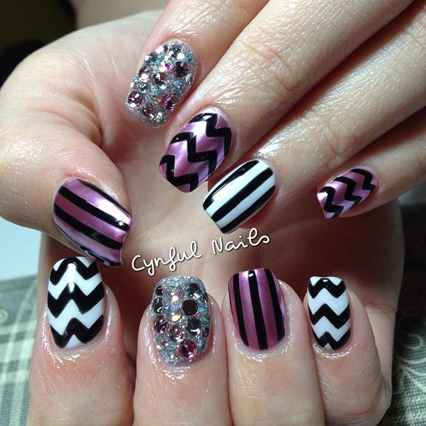 25 best mad hatter nail design images on Pinterest | Nail ...