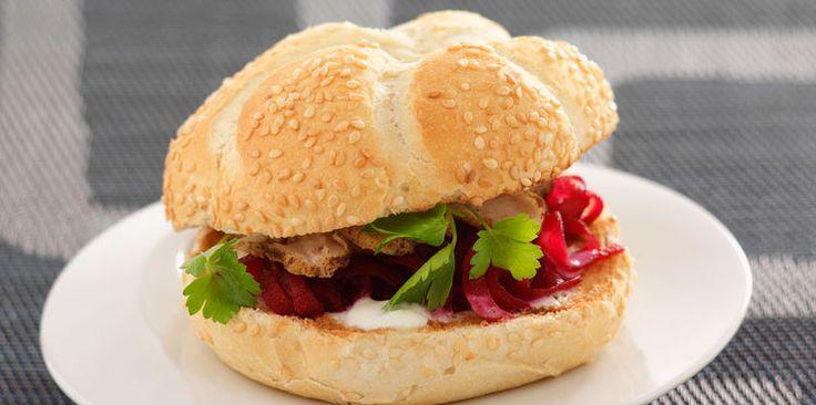 Hamburger original à la betterave