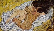 Embrace Aka Lovers II  by Egon Schiele