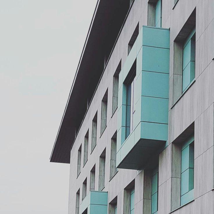 Warszawa Wilanów - Urząd Miasta / turquoise copper cladding #wydobywamokolice #imurbiminer