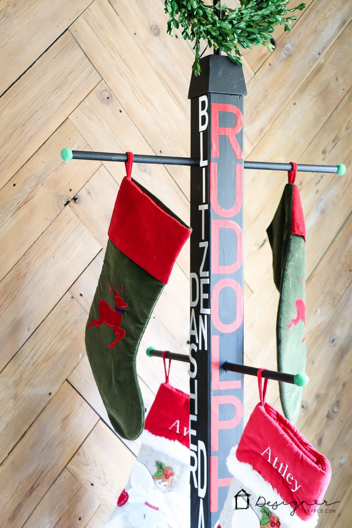 Fireplace Mantel stocking holders for fireplace mantel : Best 20+ Stocking holder stand ideas on Pinterest | Stocking stand ...