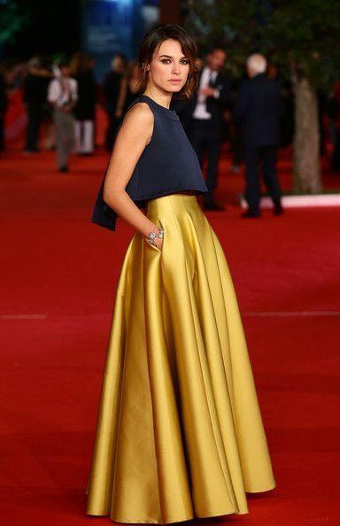 Kasia Smutniak Photos: Stars at the Rome Film Festival (Red Carpet Fashion)