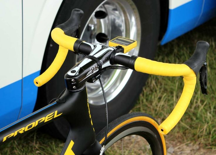 Tour de France 2014, stage two, Marcel Kittel's yellow Giant Propel Advanced SL (Pic: George Scott/Factory Media)