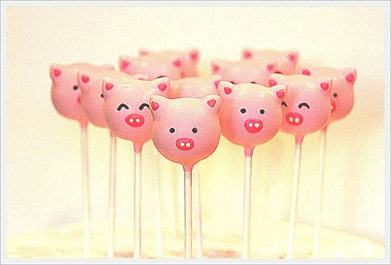 17 Best Images About Pink Pig Baby Shower On Pinterest