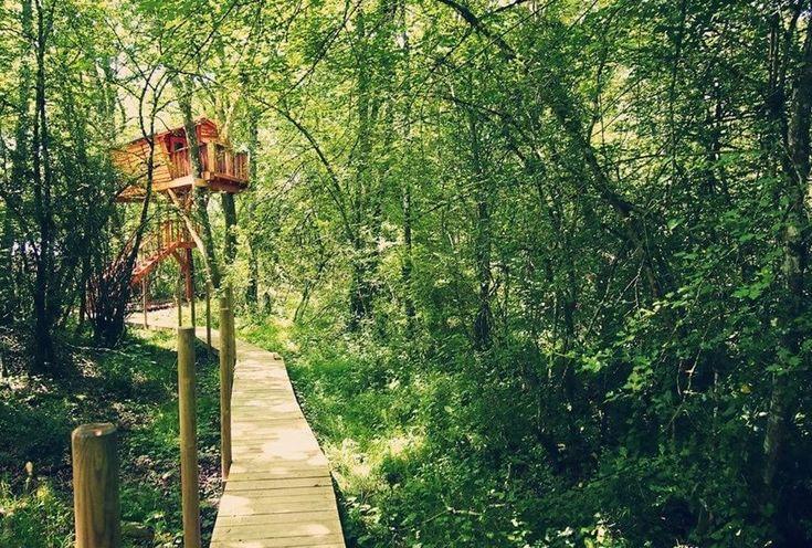 Nueve cabañas para dormir en los árboles en España (I): 02 Suite Beigorri Bungalow En