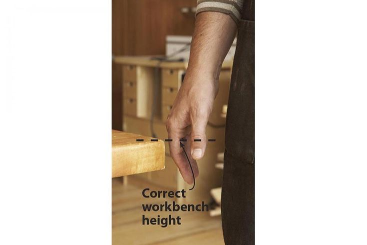 http://www.woodmagazine.com/workbench/rule-of-thumb-guides-best-workbench-height