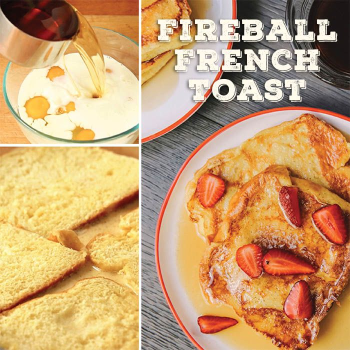 Keep the party going the morning after by spiking your French toast with a glug of Fireball. Cinnamon, after all, is a classic breakfast spice, and when mixed into a custard base, the effect of the whiskey is remarkably subtle, giving you just the faintest reminder of last night's festivities.