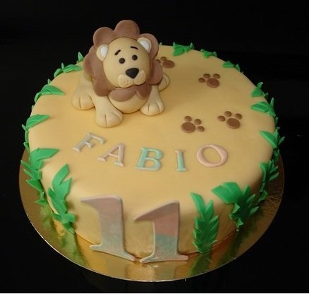 Best Lion Cakes Images On Pinterest Lion Cakes Modeling And - Lion birthday cake design