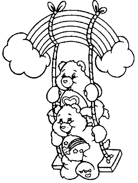 Rainbow Brite Care Bears Coloring Pages Strawberry Shortcake 1st Grades Colouring Printable Books Sheets