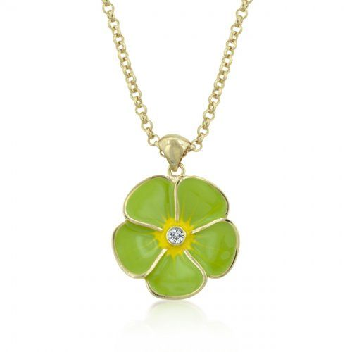 Apple Green Floral Meadow Pendant   http://atomicfleamarket.com/apple-green-floral-meadow-pendant-p-18088.html