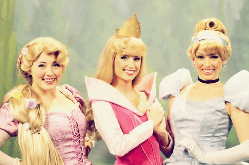 Welcome to Town Square Theater- where you meet all of the blondes.