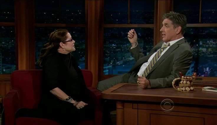 Late Late Show with Craig Ferguson 1/3/2012 Carrie Fisher, Matthew Gray ...