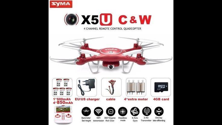 SYMA X5UW & X5UC FPV RC Drone With 720P