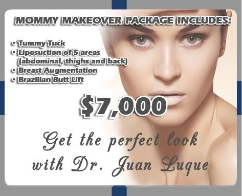 Best Mommy Makeover Package in Mexicali Mexico