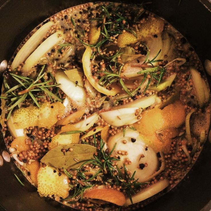 Get ready for Thanksgiving with this Aromatic Turkey Brine from i-heart-food.com