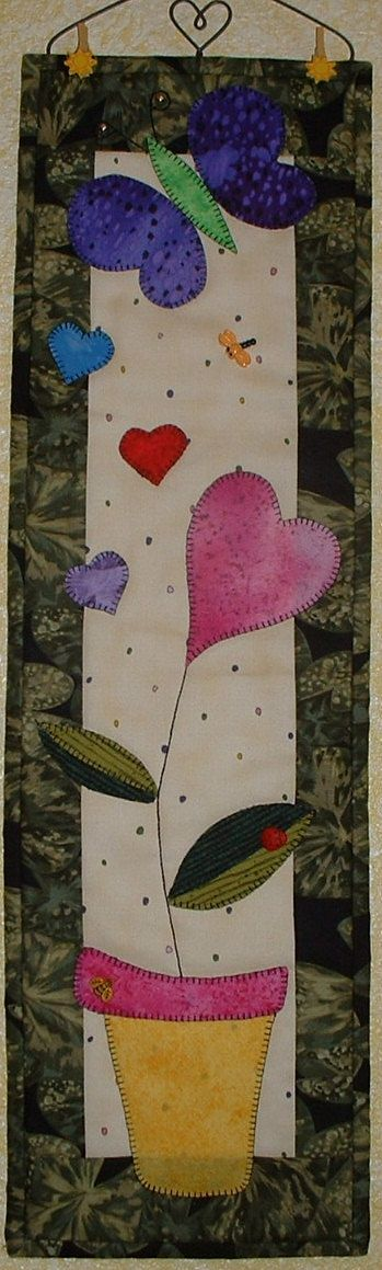 Love Blooms - Quilted Wall Hanging Pattern