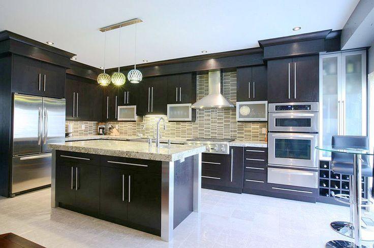17 mejores ideas sobre gabinetes oscuros en pinterest for Disenos de gabinetes de cocina