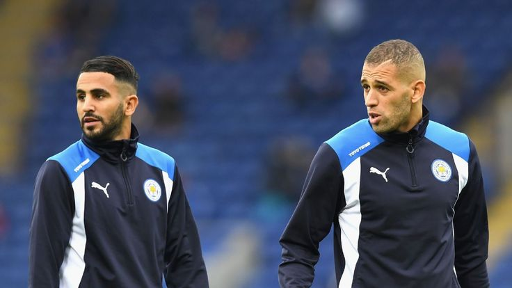 Islam Slimani requires stitches after gruesome injury