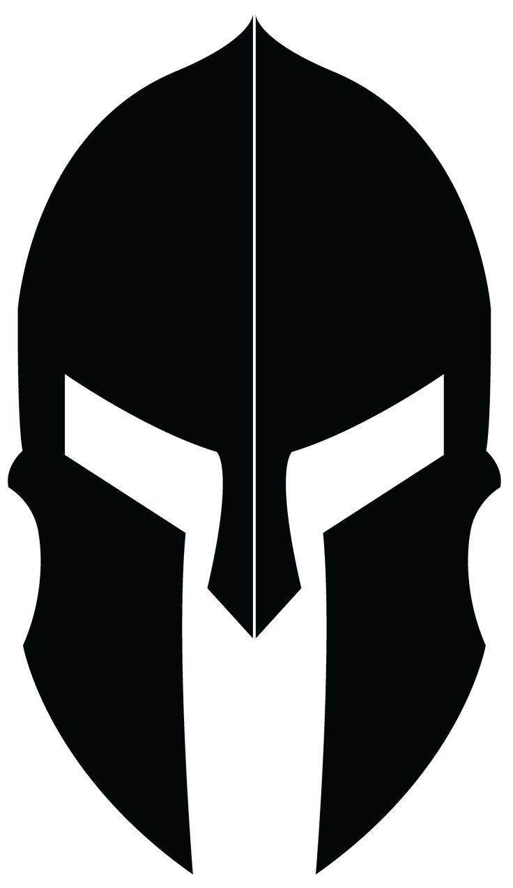 Spartaner Helm Symbol