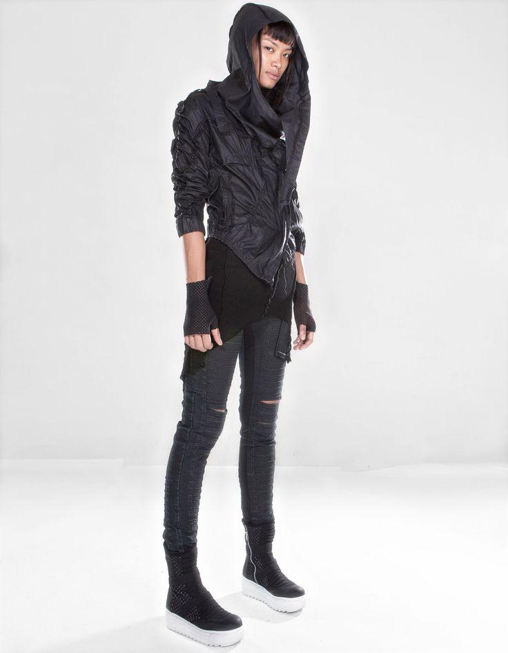 2014新作 フード付きジャケット JACKET HEADMAN W|DEMOBAZA デモバザ | 海外通販ならLASO(ラソ)