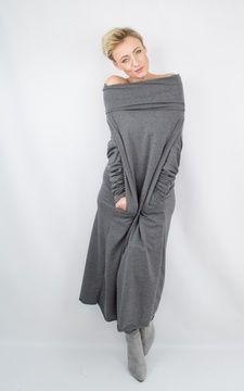 innovative design 8a11f 1e063 Oversize Pulloverkleid für Damen - Nähanleitung und ...