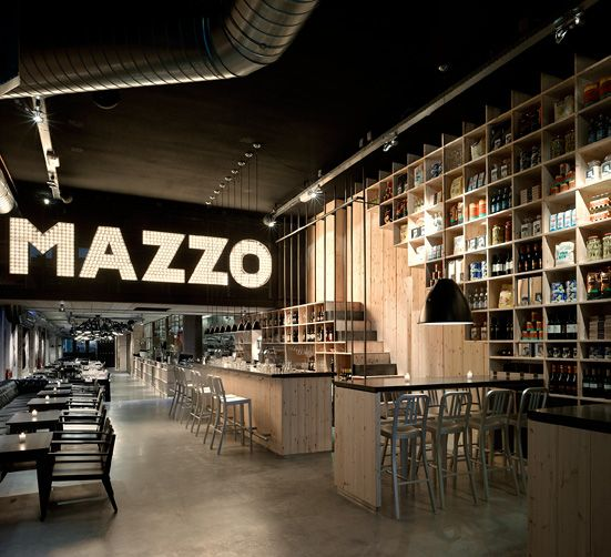 Restaurant Mazzo serves pure Italian Food. Simple, recognizable and affordable.