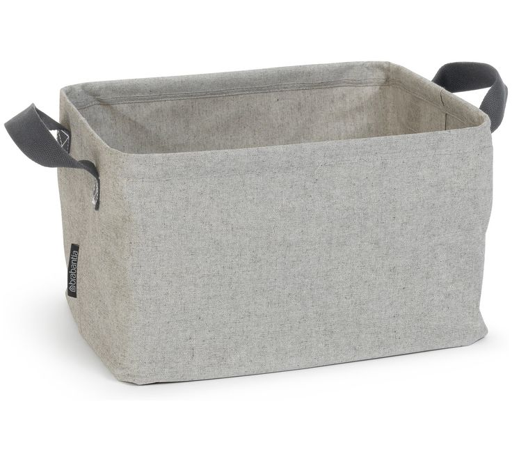Buy Brabantia 35 Litre Folding Laundry Basket - Grey at Argos.co.uk - Your Online Shop for Linen baskets and laundry bins, Bathroom accessories, Home furnishings, Home and garden.
