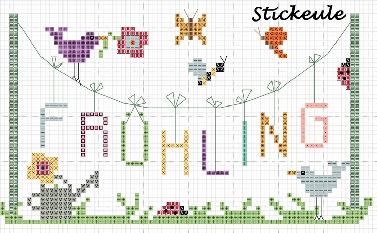 Stickeules Freebies easter, spring, fall