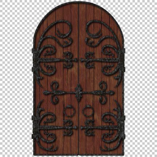 Spiral Graphics Free Seamless Medieval Door Textures