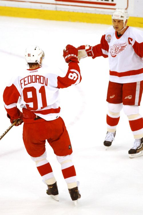 Fedorov & Yzerman, Detroit Red Wings