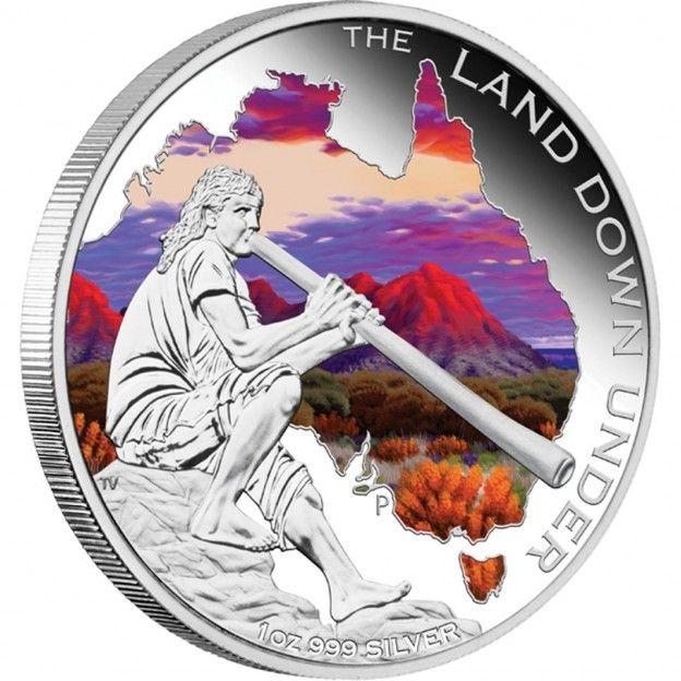 Land Down Under – Didgeridoo 2013 1oz Silver Proof Coin | australiasilver.com