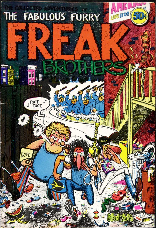 Underground Comic Art | Fabulous Furry Freak Brothers