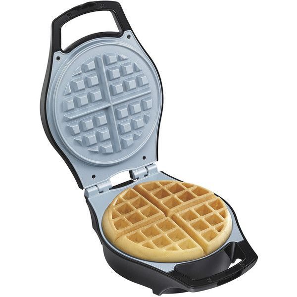 Hamilton Beach Mess-Free Belgian Waffle Maker + Ceramic Coated Grids ($53) ❤ liked on Polyvore featuring home, kitchen & dining, small appliances, hamilton beach, belgian waffle iron, hamilton beach waffle maker, hamilton beach waffle baker and hamilton beach waffle iron