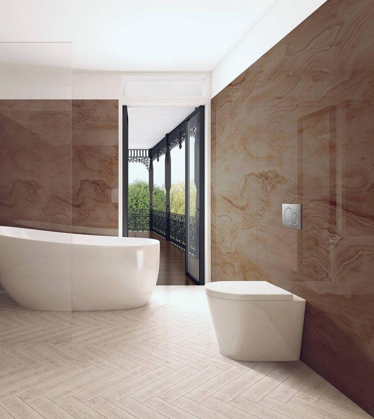 83 best hotel inspired bathroom trend images on pinterest for Bathroom finishes trends