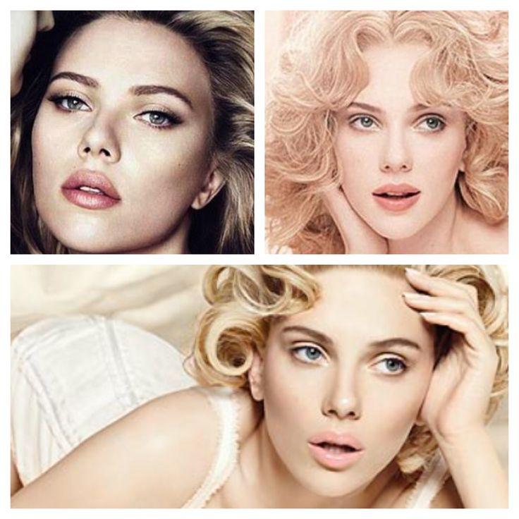 Sempre Scarlett, sempre natural make up ma quanto cambia l'effetto a seconda dell'ombreggiatura che si da agli occhi?