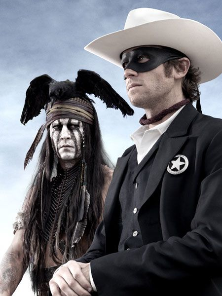 First Look! Who's Playing 'The Lone Ranger'? Click to find out! #movies
